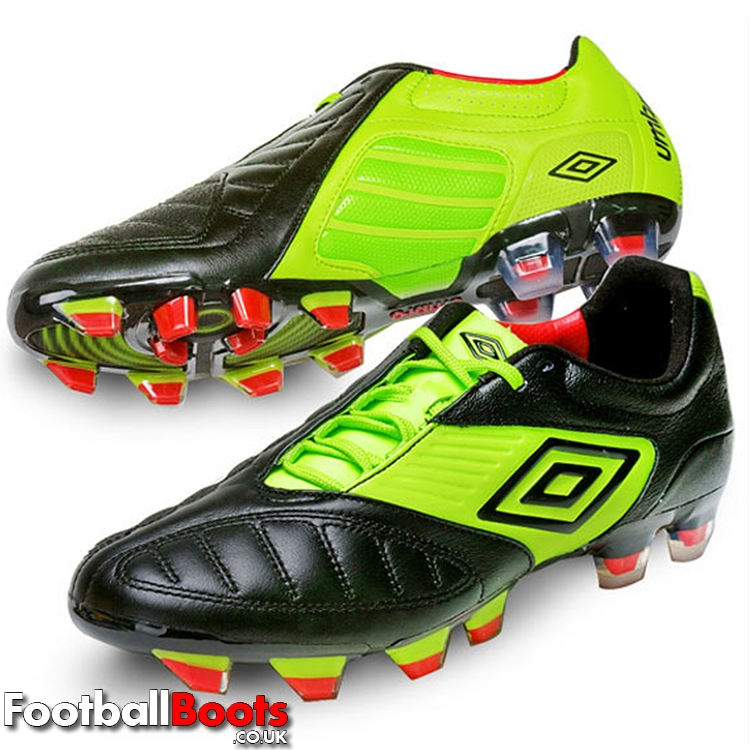 Black/Green Umbro Geometra