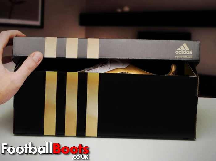 Gold Box Messi Boots